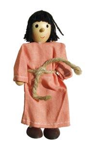 Bibel-Biege-Puppe 13 cm - Magdalena