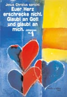 Poster A4 - Euer Herz erschrecke nicht