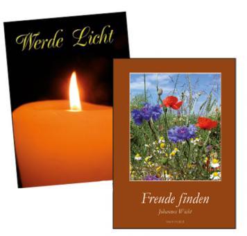 Spenden-Spar-Päckchen - Hefte mit meditativen Texten
