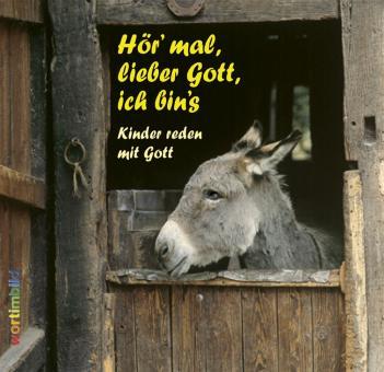 Grußheft mit CD - Hör mal, lieber Gott, ich bins