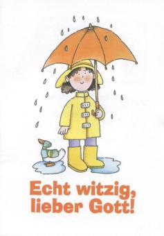 Spenden-Heft A6 - Echt witzig, lieber Gott!