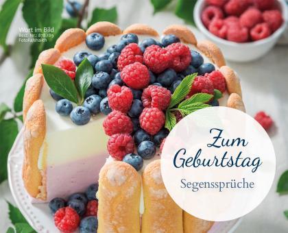 Aufstellbuch A6 -  Zum Geburtstag Segenssprüche