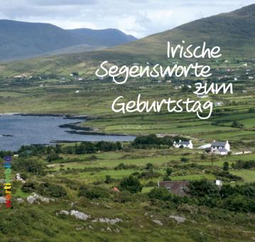 Grußheft mit CD - Irische Segensworte zum Geburtstag