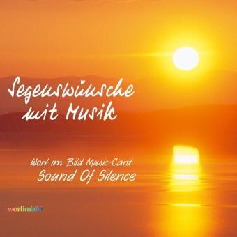 Music-Card - Segenswünsche mit Musik
