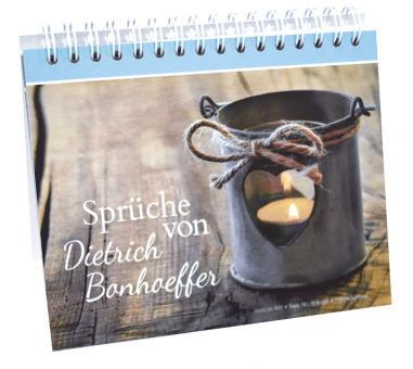 Aufstellbuch A6 - Sprüche von Dietrich Bonhoeffer