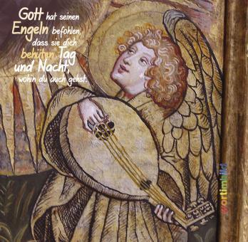 Grußheft mit CD - Engel