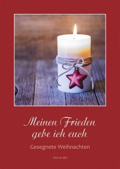 Heft A5 - Meinen Frieden gebe ich euch – Gesegnete Weihnachten