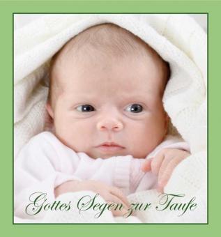 Music-Card - Gottes Segen zur Taufe