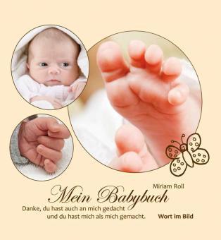 Bildband gebunden - Mein Babybuch