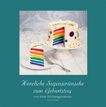 Hörbuch-Karte - Herzliche Segenswünsche Zum Geburtstag von Ihrer Kirchengengemeinde