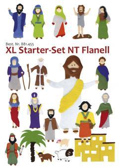 Starter-Set XL-Flanell-Bilder
