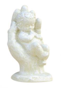 Skulptur 11 cm creme - Geborgenheit