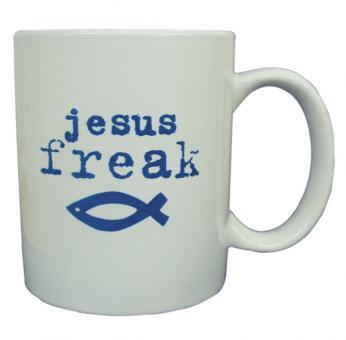 Tasse weiß - Jesus Freak