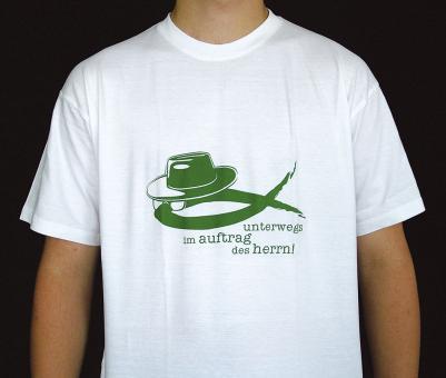 T-Shirt - Unterwegs im Auftrag des Herrn