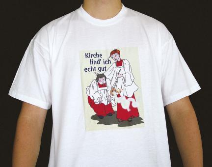 T-Shirt - Kirche find ich echt gut