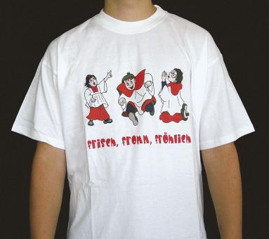 T-Shirt - frech, from, fröhlich