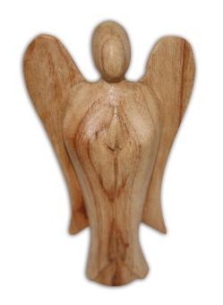 Engel aus Naturholz 12 cm