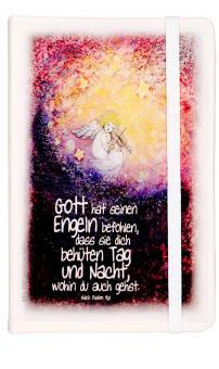 Notebook A6  - Engel mit Geige