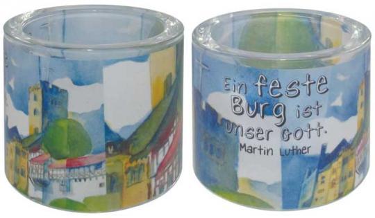 Leuchtglas 8 cm - Martin Luther Wartburg