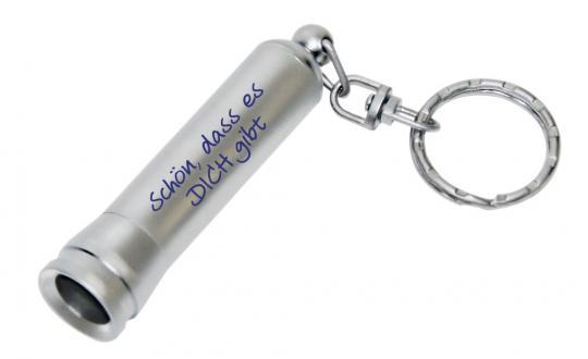 Mini-LED-Taschenlampe - Schön, dass es dich gibt
