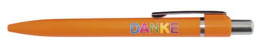 10er-Set Kulis orange - DANKE