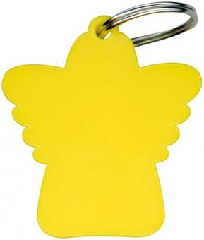 Schlüsselanhänger - Schutzengel gelb