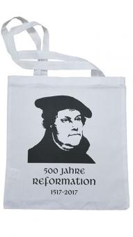Cotton Wool Cloth Bag - Luther - 500 Years of Reformation 1517-2017