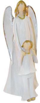 Schutzengel mit Kind 22 cm