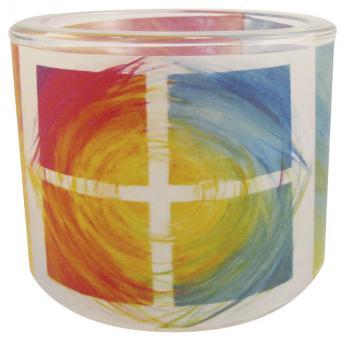 Leuchtglas 8 cm - Hoffnung - Rieger
