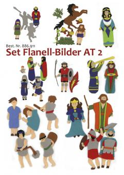 Set Flanell-Bilder - Altes Testament 2 - Könige und Propheten
