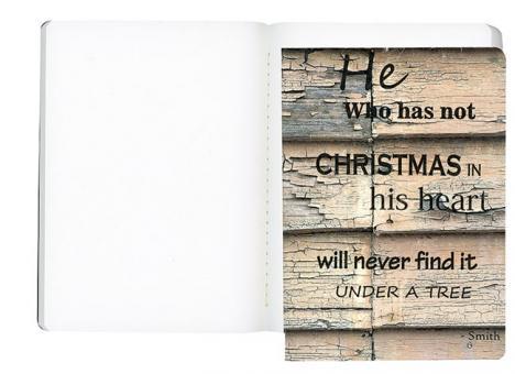 Notizen- und Skizzenheft - Christmas