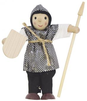 Bibel-Biege-Puppe 13 cm - Soldat mit Lanze