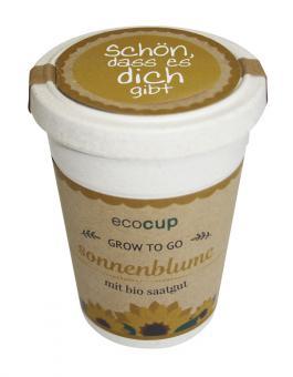 ecocup - Sonnenblume - Schön, dass es dich gibt