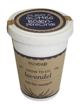 ecocup - Lavendel - Gottes Bodenpersonal