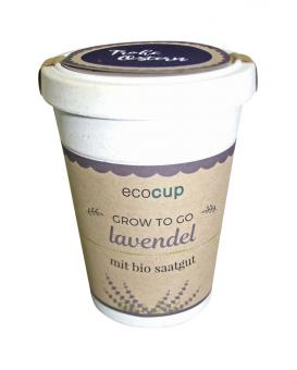 ecocup - Lavendel - Frohe Ostern