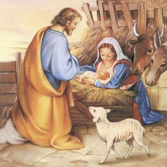 20er-Set Servietten 33x33 cm - Jesus ist geboren