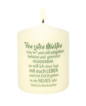 Mini-Kerze 6x5 cm - Von guten Mächten ...