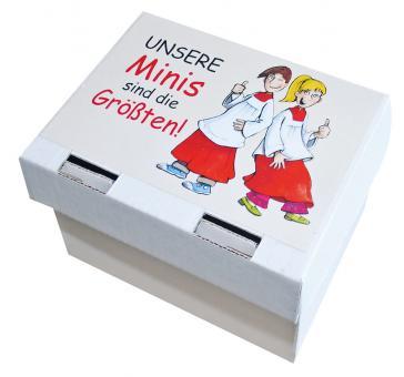 Notizzettelbox weiß - Unsere Minis sind die Größten!