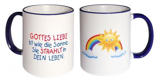 Fototasse - Regenbogen/Sonne