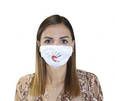 Mund-Nasen-Maske - Hand in Hand