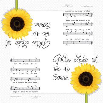 20er-Set Servietten 33x33 cm - Liebe ist wie die Sonne