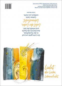 Doppelkarte m. Umschlag - Licht der Liebe