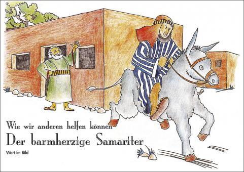 Spenden-Malheft A4 - Der barmherzige Samariter
