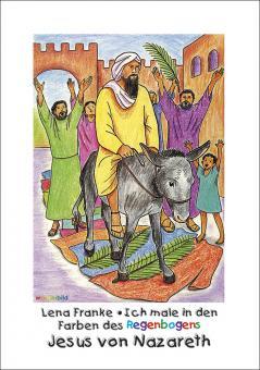 Malheft A4 - Jesus von Nazareth