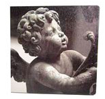 Wandbild - Musizierender Engel