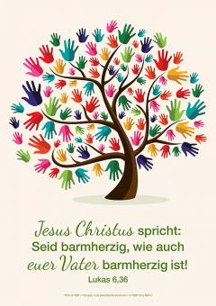 Poster A2 - Jahreslosung 2021 - Baum