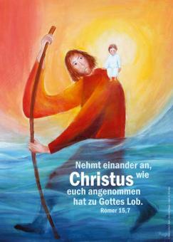 Poster A3 - Nehmt einander an - Rieger