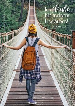 Poster A3 - Ich glaube; hilf meinem Unglauben! - Brücke