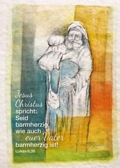 Poster A3 - Jahreslosung 2021 - Simone Riedel