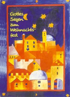 Doppelkarte plano - Bethlehem